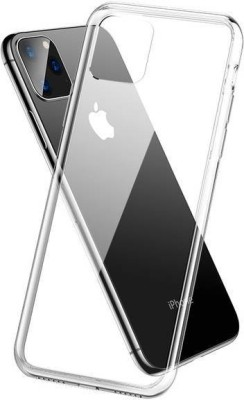 Case Creation Back Cover for Apple iPhone 12 Soft Phone Case Slim Cover with flexible TPU Technology(Transparent, Camera Bump Protector, Silicon)