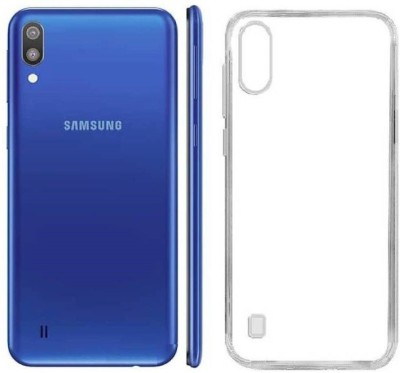 Case Creation Back Cover for Samsung Galaxy A10 Soft Phone Case Slim Cover with flexible TPU Technology(Transparent, Camera Bump Protector, Silicon)