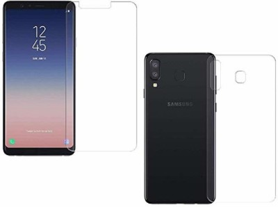 Mobilive Front and Back Tempered Glass for Samsung Galaxy A8 Star(Pack of 2)