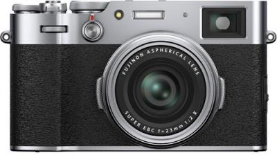 FUJIFILM X Series X100V Mirrorless Camera Body with f-23 mm Lens(Silver)