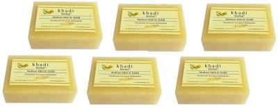 Khadi Herbal Multani Mitti & Haldi(6 x 125 g)