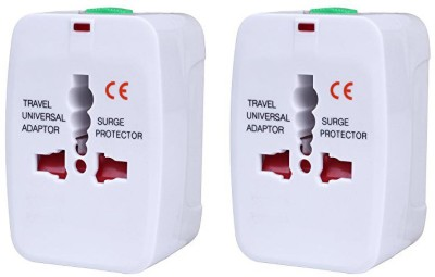 Orcoa Worldwide Universal Travel Power Adapter, Worldwide Adaptor White