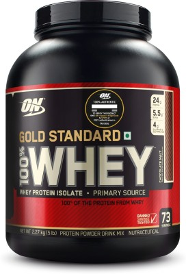 Optimum Nutrition 100% Whey Gold Standard (5lbs, Chocolate Malt)