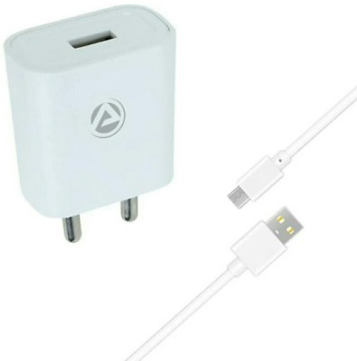 ARU AR-155 2.1 A Mobile Charger with Detachable Cable(White, Cable Included)