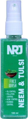 NRJ GROUP Neem & Tulsi Acne Clear Face Wash Gel With Pure Antibacterial Properties Face Wash(100 g)