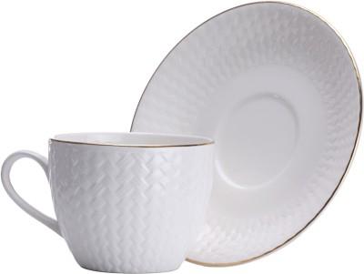 Clay Craft Pack of 12 Ceramic CS-CANE-IMP-1101(Multicolor)