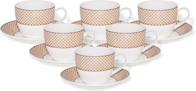Clay Craft Pack of 12 Ceramic CS-CREAM-SUPER-S365(Multicolor)