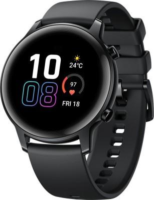 Honor Magic Watch 2 (42 mm) Smartwatch(Black Strap, Regular)