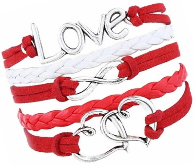 Jewelgenics Leather Bracelet