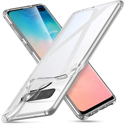 Case Creation Back Cover for Samsung Galaxy S10e Soft Phone Case Slim Cover with flexible TPU Technology(Transparent, Camera Bump Protector, Silicon)