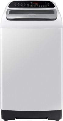 SAMSUNG 6.5 kg 5 Star Inverter Fully Automatic Top Load Grey(WA65T4262GG/TL)