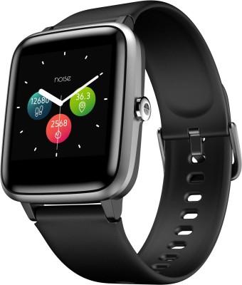 Noise ColorFit Pro 2 Smartwatch(Black Strap, Regular)