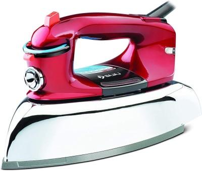 Bajaj Heavy Weight Steam Iron Macho, High Quality 2000 W Steam Iron(Red)