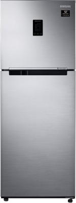 Samsung 324 L Frost Free Double Door 2 Star (2020) Convertible Refrigerator(Elegant Inox, RT34T4542S8/HL)