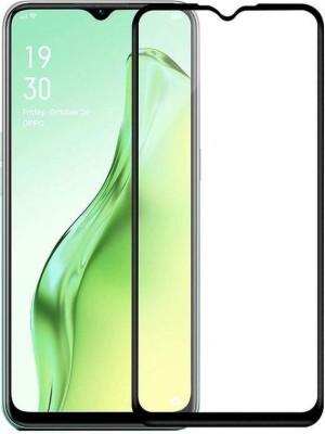Ravbelli Edge To Edge Tempered Glass for Oppo A31(Pack of 1)