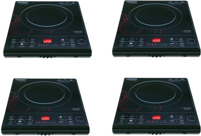 Usha 3616 Pack of 4 Induction Cooktop(Black, Push Button)