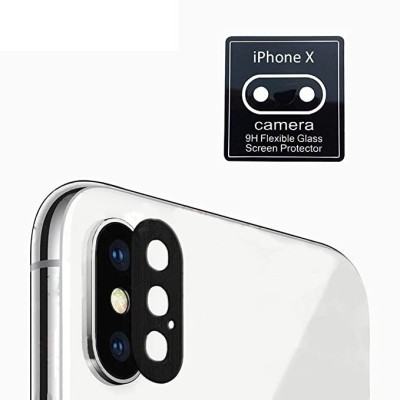 SmartLike Camera Lens Protector for Apple iPhone X(Pack of 1)