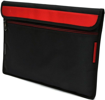 Saco Wallet Case Cover for Lenovo Yoga Book Tablet 10.1 inch(Red, Cases with Holder)
