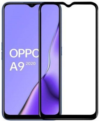 Ghilli Edge To Edge Tempered Glass for OPPO A9 2020(Pack of 1)