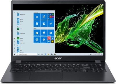 Acer Aspire 3 Core i5 10th Gen - (4 GB/1 TB HDD/Windows 10 Home) A315-56 Laptop(15.6 inch, Shale Black, 1.9...