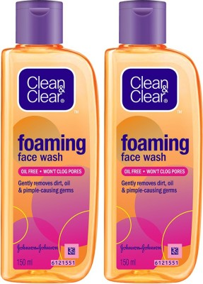 Clean & Clear Oil-Free Foaming Face Wash(300 ml)