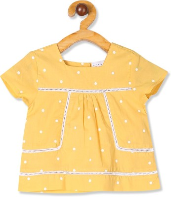 DONUTS Solid Baby Girls Tunic DONUTS Kids' Tops