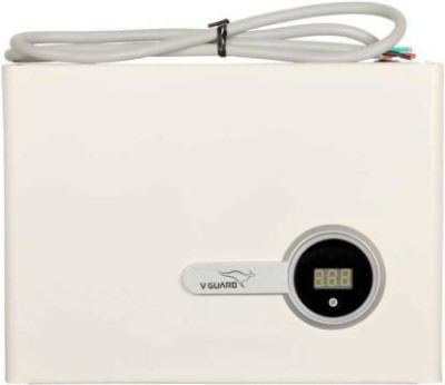 V Guard VIG 400 specially designed for inverter AC [170V 270V]VOLTAGE STABALIZER White V Guard Voltage Stabilizers