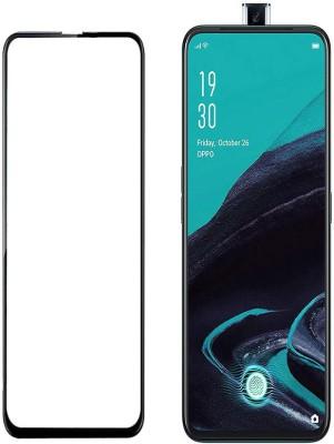 HOBBYTRONICS Edge To Edge Tempered Glass for OPPO Reno 2z, Oppo Reno2 F, OPPO K3, Vivo V15, Vivo Z1 Pro(Pack of 1)