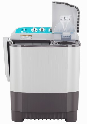 LG 6 kg With Collar Scrubber Semi Automatic Top Load Black, White(P6001RG)