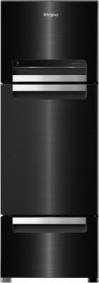Whirlpool 260 L Frost Free Triple Door Refrigerator(Grey, FP 283D PROTTON ROY STEEL ONYX (N))