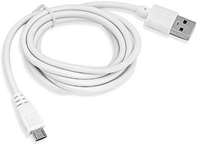 Helvid Data Cable   1mtr   49C 1 m Micro USB Cable Compatible with Smart phones, White, One Cable Helvid Mobile Cables