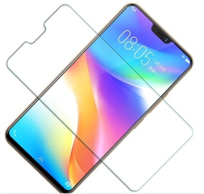 Case Creation Edge To Edge Tempered Glass for VIVO X21(Pack of 1)