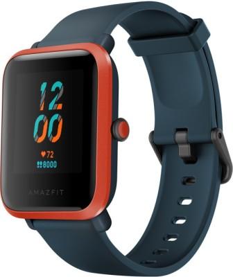 Huami Amazfit Bip S Smartwatch(Blue Strap, Regular)