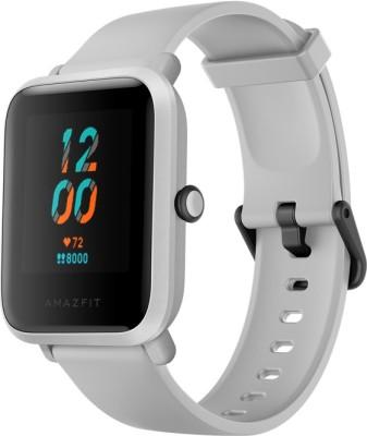 Huami Amazfit Bip S Smartwatch(White Strap, Regular)
