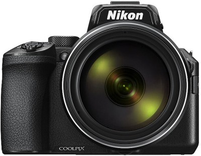Nikon Coolpix P950(16 MP, 83x Optical Zoom, Up to 4x (angle of view equivalent to that of approx. 8000 mm lens in 35mm [135] format) Up to 3.6x when recording movies with [2160/30p] (4K UHD) or [2160/25p] (4K UHD) Digital Zoom, Black)
