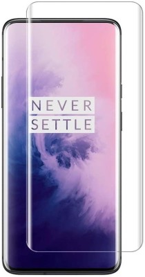 Case Creation Edge To Edge Tempered Glass for Oneplus 7 Pro(Pack of 1)
