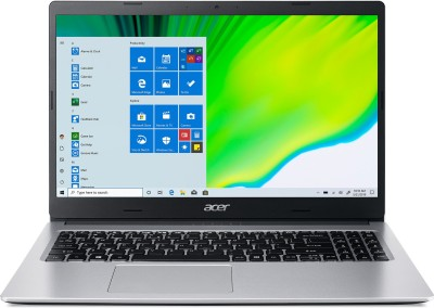 Acer Aspire 3 Ryzen 3 Dual Core 3250U    4  GB/1 TB HDD/Windows 10 Home  A315 23 R96Y Laptop 15.6 inch, Pure Silver, 1.9 kg Acer Laptops