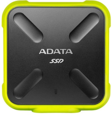 ADATA ASD700 256 GB External Solid State Drive(Green, Black)