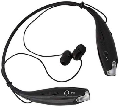 TECHFIRE HBS-730 Stereo Headphones Bluetooth Headset Bluetooth Headset(Black, Wired in the ear)