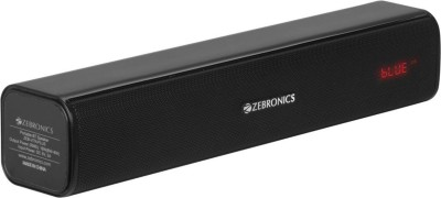 Zebronics Zeb-Vita Plus 16 W Bluetooth Laptop/Desktop Speaker(Black, Stereo Channel)