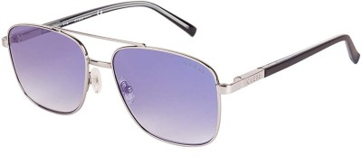 Guess Retro Square Sunglasses(Blue)
