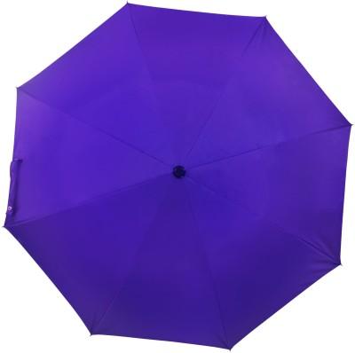 Flipkart SmartBuy 2 fold Auto Open Polyester Umbrella(Violet)