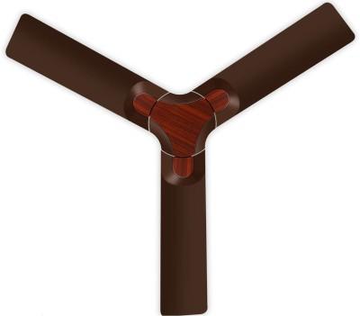 LUMINOUS New York Brooklyn 1200 mm Silent Operation 3 Blade Ceiling Fan ( Mahogany Pack of 1) 1200 mm 3 Blade Ceiling Fan(Mahogany, Pack of 1)