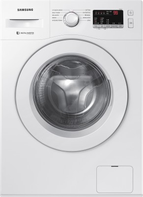 Samsung 6 kg Fully Automatic Front Load White(WW61R20GLMW/TL)
