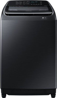 SAMSUNG 16 kg Fully Automatic Top Load Black(WA16N6781CV/TL)