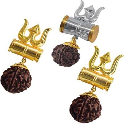 Vastughar Gold-plated, Sterling Silver Brass Locket Set