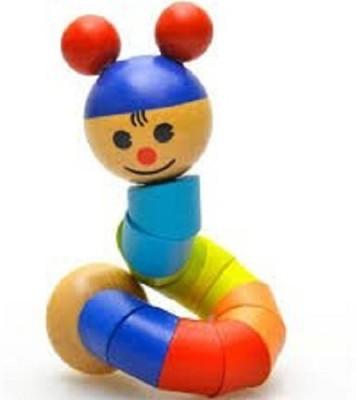 ADICHAI Twisting Wooden Doll Multicolor ADICHAI Doll Houses   Play Sets