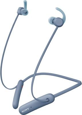 Sony WI-SP510 Bluetooth Headset(Blue, Wireless in the ear)