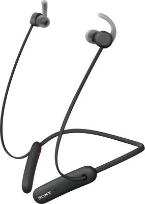 Sony WI-SP510 Bluetooth Headset(Black, Wireless in the ear)