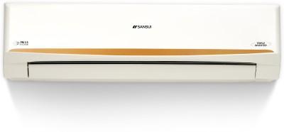 Sansui 1.5 Ton 5 Star Split Triple Inverter AC with PM 2.5 Filter  - White, Gold(SAC155SIAP, Copper Condenser)